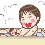 父親とお風呂に入る娘(何歳まで一緒に入った?)