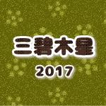 三碧木星(2017年運勢と吉方位)
