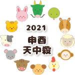 申酉天中殺の2021年運勢